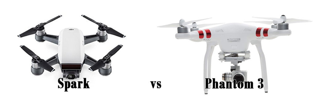 DJ Spark vs Phantom 3
