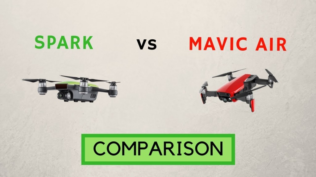 DJi Spark vs Mavic Air