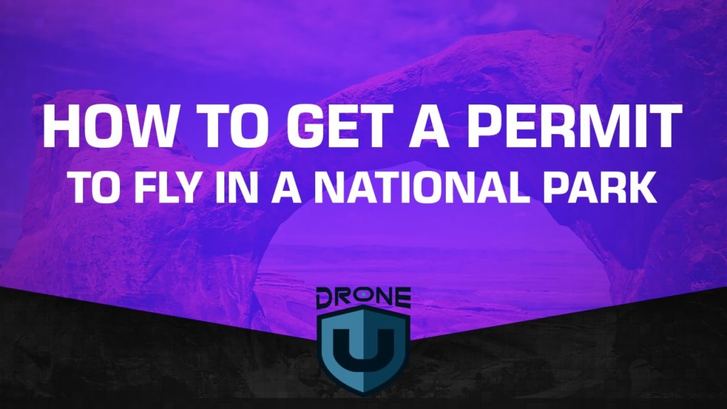 national drone permit