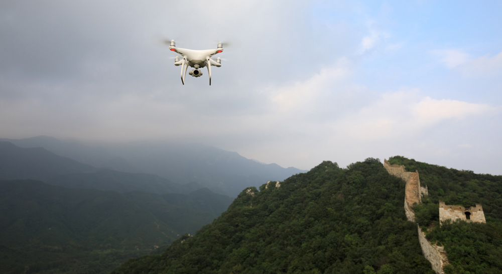 national drones permit